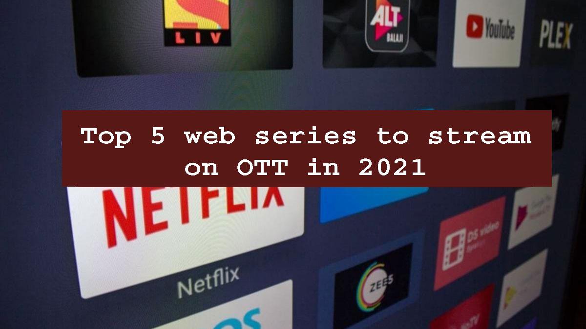 Top 5 web series